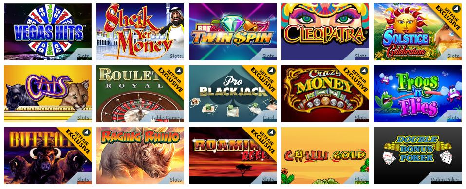 Betfair Casino Promo Code Games