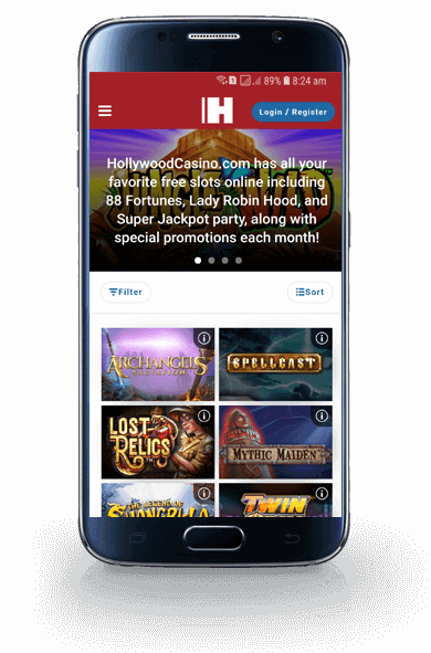 Hollywood Casino App